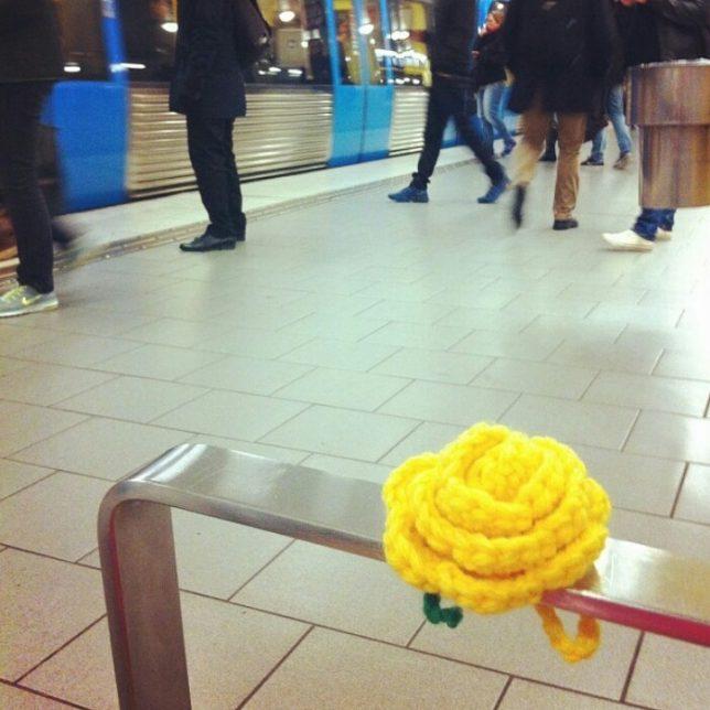 Rådmansagatans tunnelbanestation 20 okt 2014