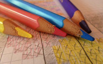 Konsten att lära sig flefärgsvirkning