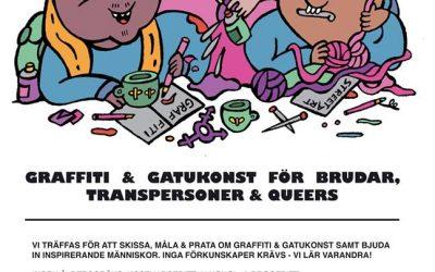 Juntan – Graffiti och gatukonst för brudar, transpersoner och queers