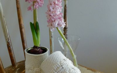 Lucka 14 – virkad hyacintvas