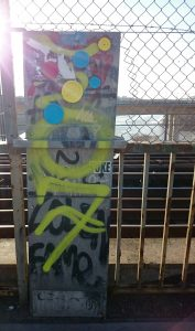 garngraffiti på Skanstullsbron