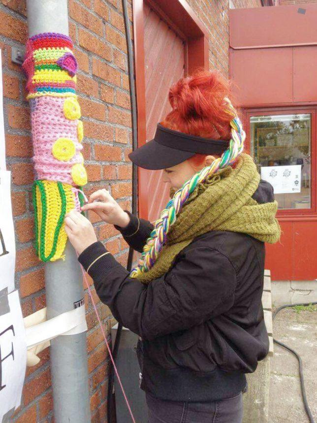 workshop i garngraffiti
