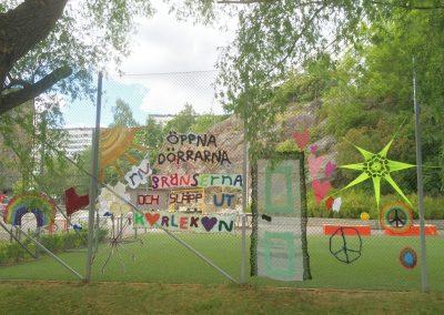 Yarnbombing day Stockholm 2016