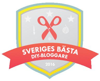 Virka dygnet runt är nominerad till Sveriges bästa DIY-bloggare