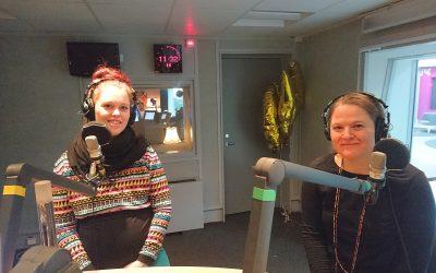 Radiodebut om gerillaslöjd hos P5 Sthlm