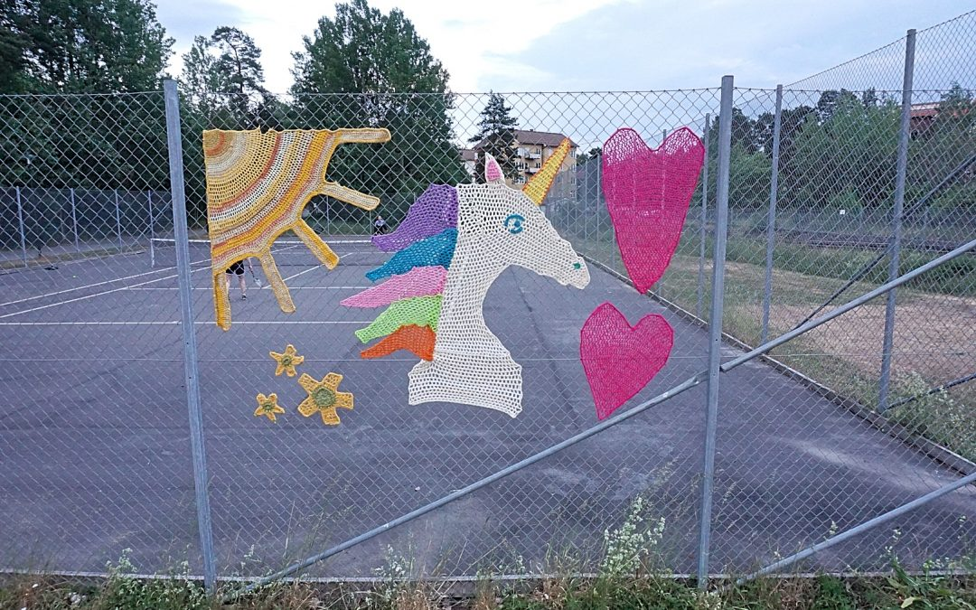 Yarnbombing day 2018