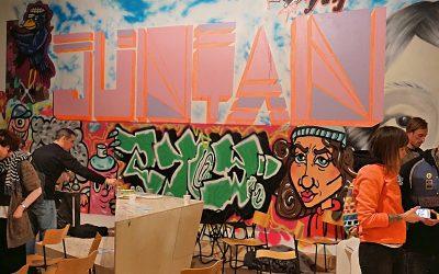 Vernissage för Juntan hos Botkyrka konsthall
