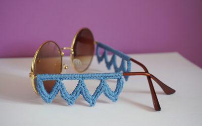 Virkade solglasögon