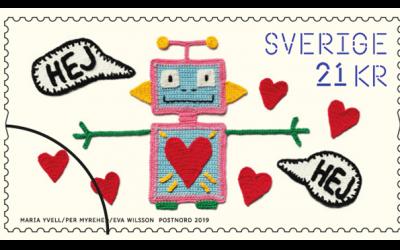 Slöjdkraft, Postnords nya frimärken